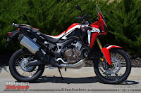 RIght Side Honda Africa Twin