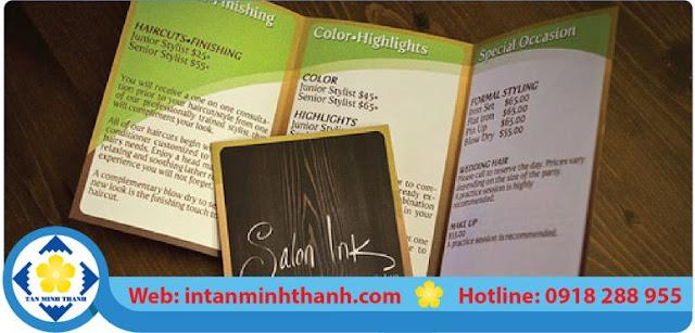 dịch vụ in ấn brochure hcm