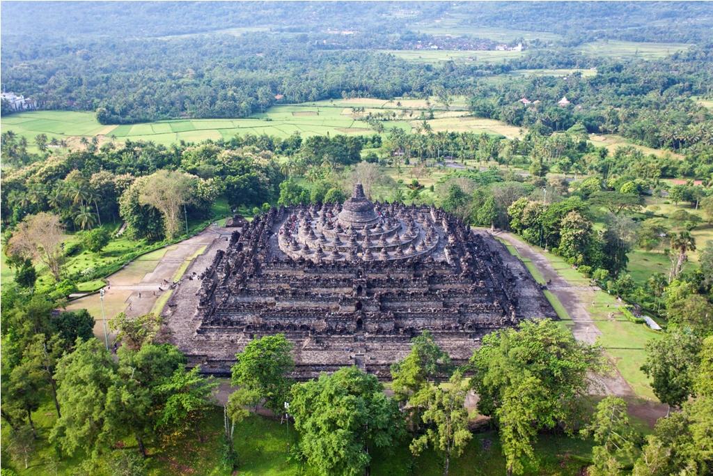 Candi Borobudur Sejarah Mahakarya Abad 9 Manusia Lembah