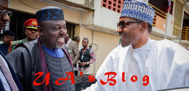 Your administration is approved by God, Okorocha tells Buhari
