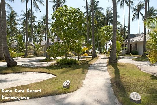 jalan di kura kura resort karimunjawa