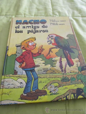 Nacho el amigo de los pájaros (foto sacada de Todocoleccion)