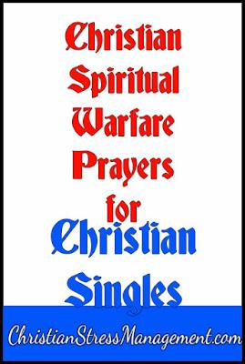 Christian spiritual warfare prayers for Christian singles
