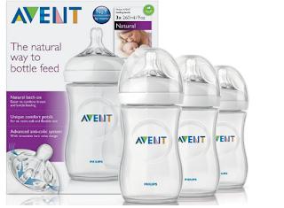 Bình sữa Avent Natural - thiết kế mô phỏng tự nhiên