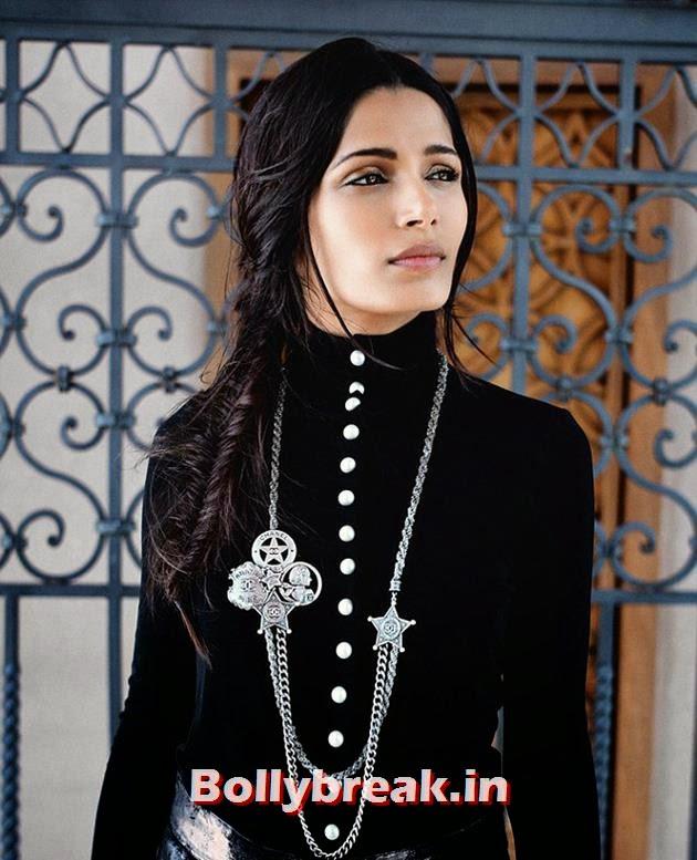 , Freida Pinto Harper's Bazaar Arabia Magazine Scans