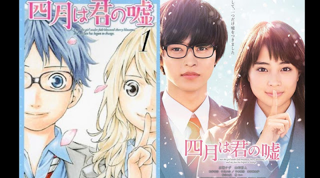 Review, review anime, review film, Your lie in April, Shigatsu wa kimi no uso, Arima, Kaori