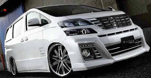 BonCel ModiF: Modifikasi Tampilan mobil ALPHARD