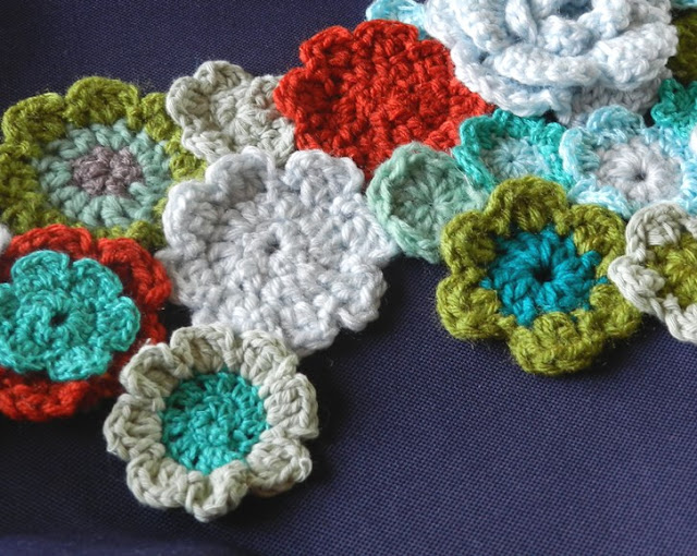 Grow Creative: Crochet Flower Canvas Bag Up-cycle