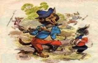Lecturas con moraleja: EL lobo flautista y el cabrito