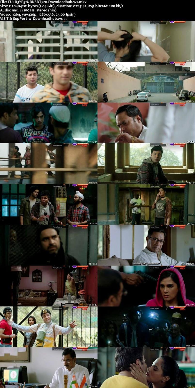 Fukrey Returns 2017 Hindi 720p DTHRip x264