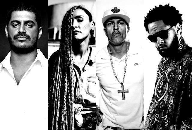 Rappers dizem Não ao Golpe, Mano Brown, Criolo, Yzalú, Emicida