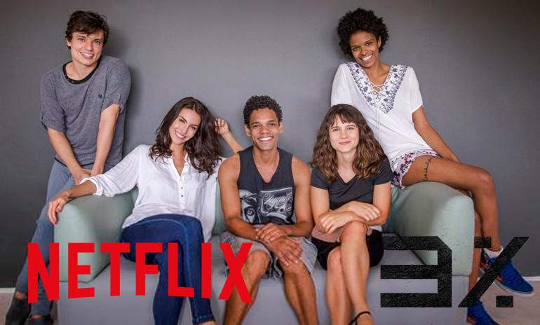 Elenco de 3% inicia filmagens da primeira série original brasileira da Netflix