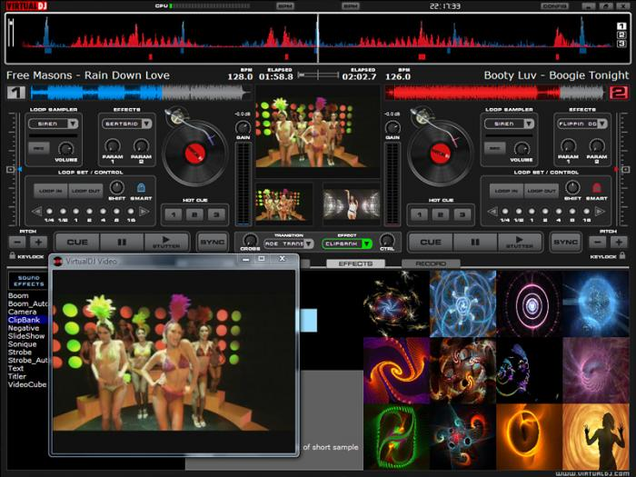VirtualDJ 7 1 Pro Edition(Multi Deck Skins + Samples Effects