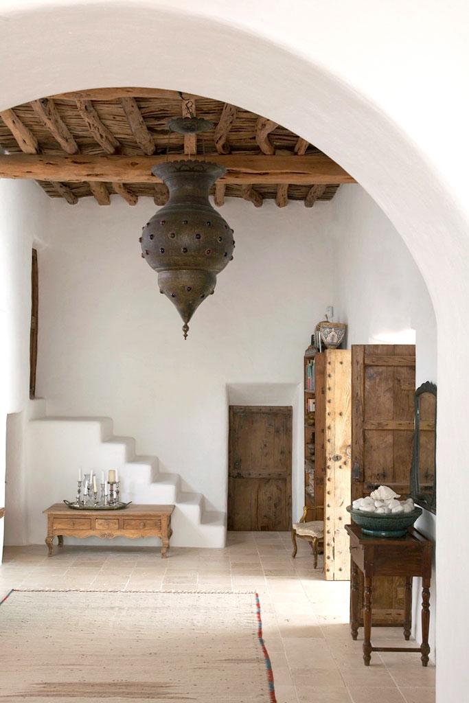 Boiserie c marocco un ambiente bianco naturale romantico for Arredi marocchini