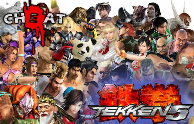 Cheat Tekken 5 Ps 2