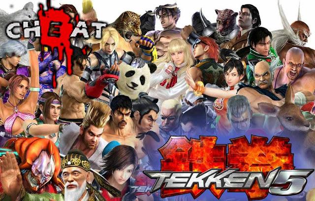 Cheat Tekken 5 Ps 2