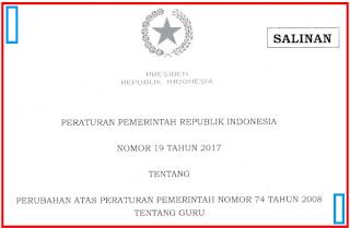 (PP) No.19 Tahun 2017