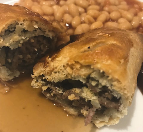 Minced Beef Pasties