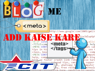 how to add meta tag in blog