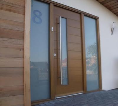 Model Pintu Utama Rumah Minimalis 2018 3