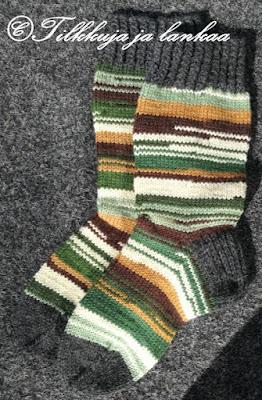 perus villasukat, miesten sukat