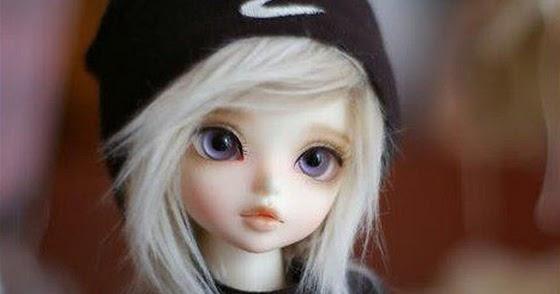 Alone Cute Little Doll Girl Innocent Brunette Barbie