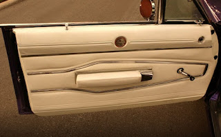 1970 Dodge Charger 500 Sports Convertible Door Interior
