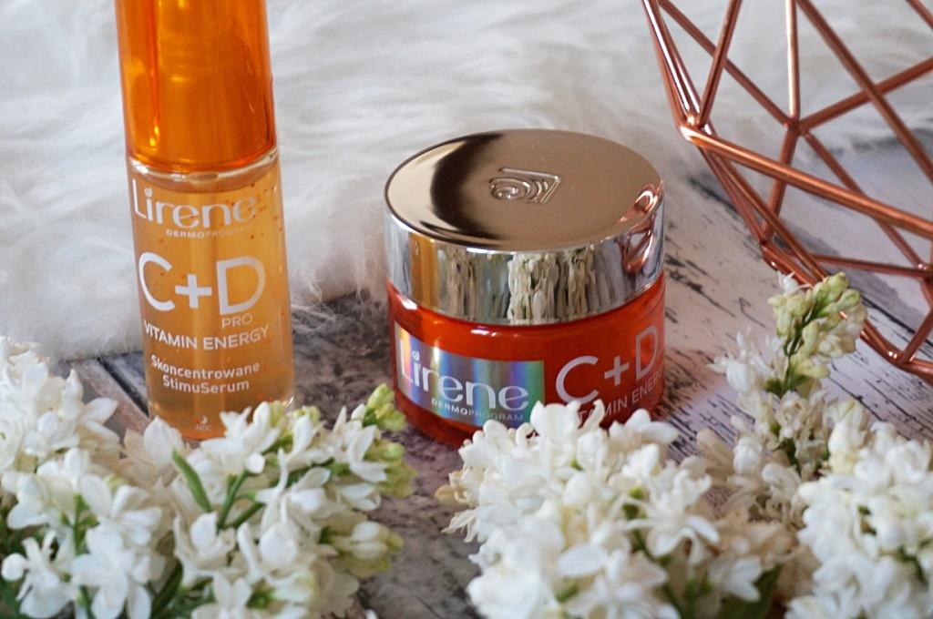 Lirene C + D Vitamin Energy serum i krem - witaminowy koktajl dla skóry