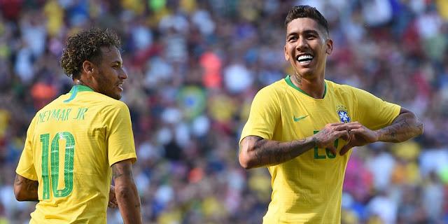 Video Cuplikan Gol Brasil vs Kroasia Skor Akhir 2-0 | Friendly Match 03-05-18
