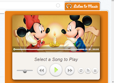 how to add a floating music player to your blog