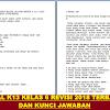 soal tematik kelas 6 kurikulum 2013 Revisi 2018 & kunci Jawaban