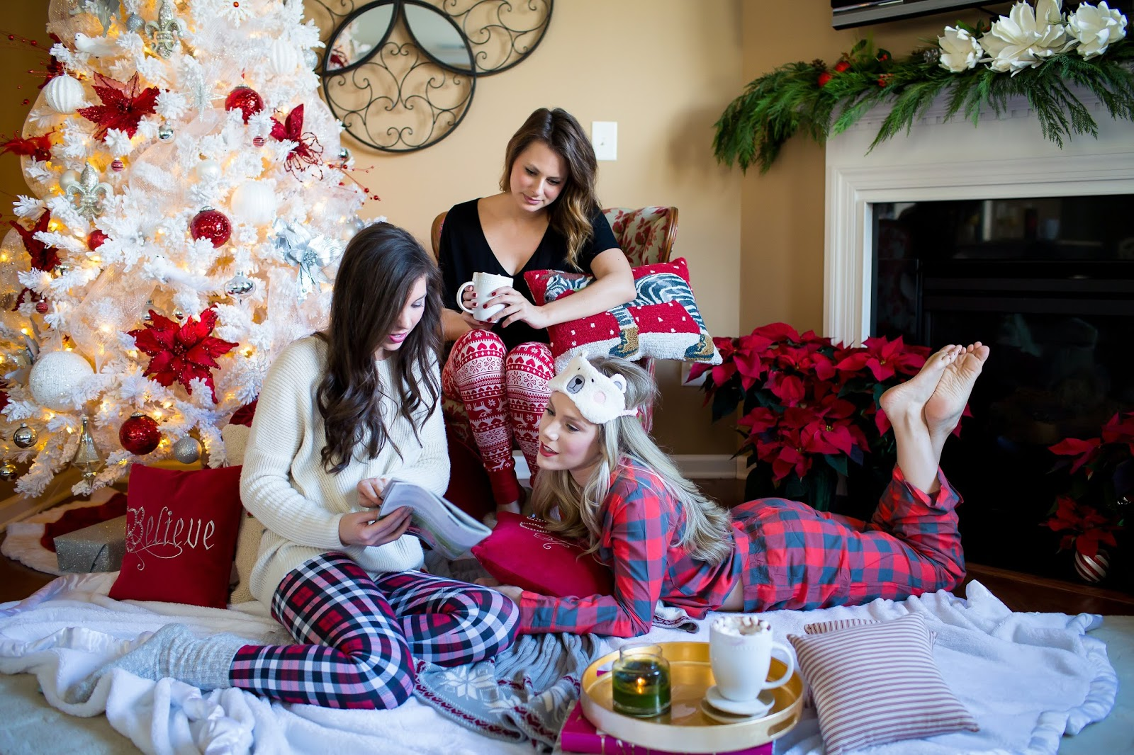 christmas party photography brittney rowland photography christmas jammies holiday party ideas christmas - Nordstrom Christmas Pajamas