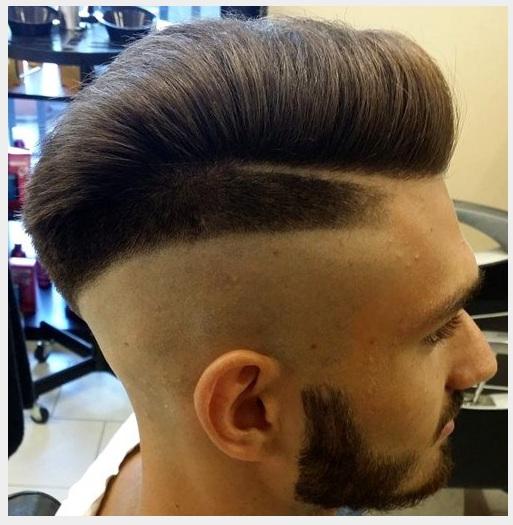 Trenzas hacia atras hombre for Peinado hacia atras hombre