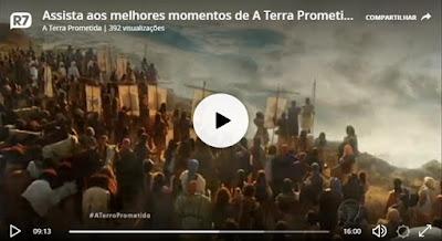 Travessia do Rio Jordão na novela A Terra Prometida