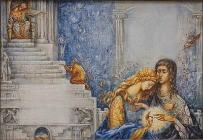 erotokritos-aretousa Ζωγραφική Κώστας Κουνάλης