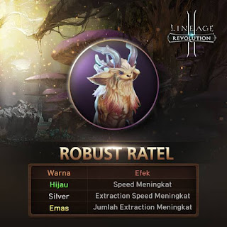 Robust Ratel dan Garden Sentry Monster Extraction Dungeon di Lineage 2 Revolution Indonesia