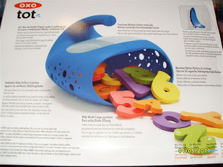 Review Of Oxo Tot Whale Pail Bath Toy Scoop And Storage