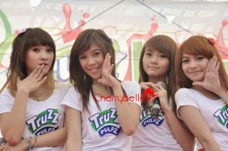 Kumpulan Foto Cantik Unyu-Unyu Girl Band Cherry Belle
