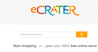 selling on ecrater.com is free