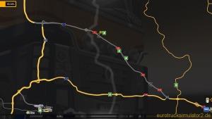 Mini Map-Extension DK18/A18 -  ETS2 map (1.4.8)