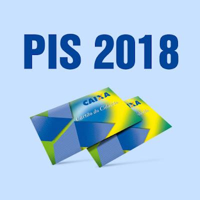 PIS 2018 CALENDÁRIO