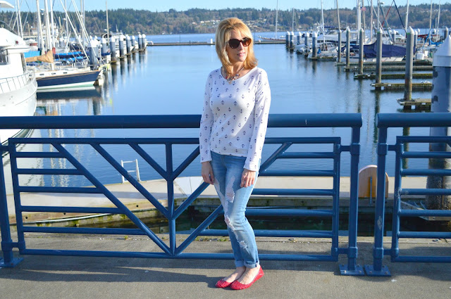 Nauticalfashion, stylingtips,fashionover40, PNW, trend, spring