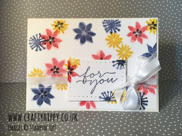 Blooms & Wishes Card, Stampin' Up!