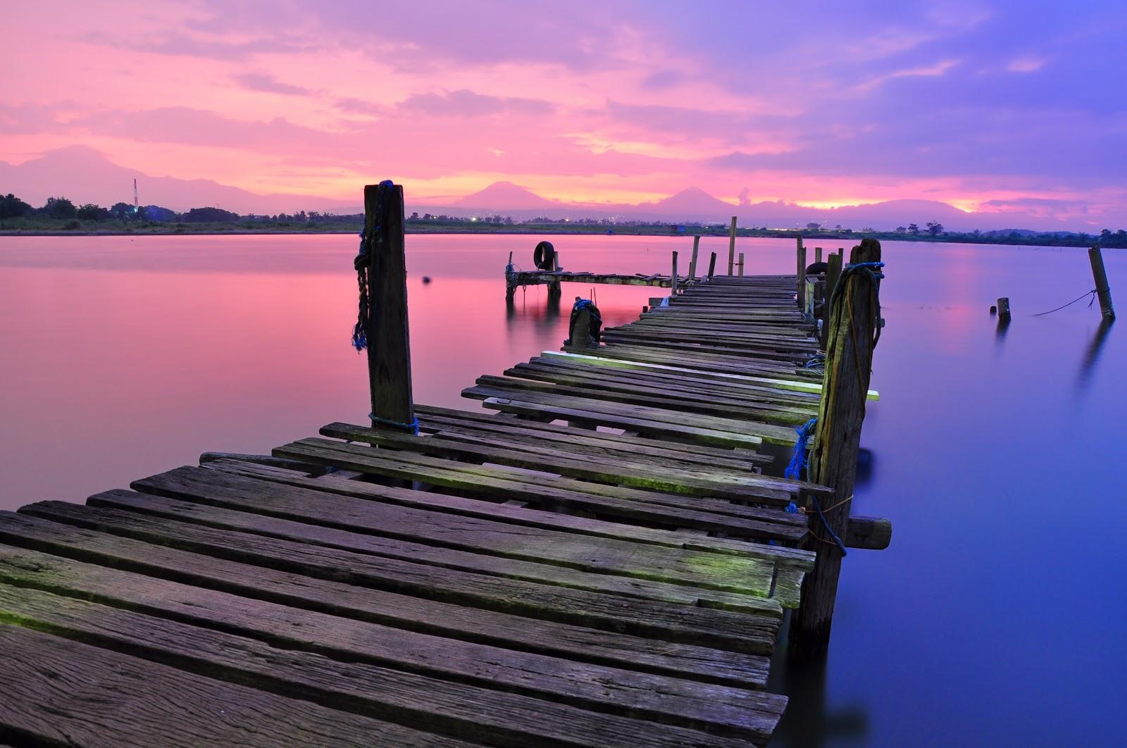 Dock Sky Water