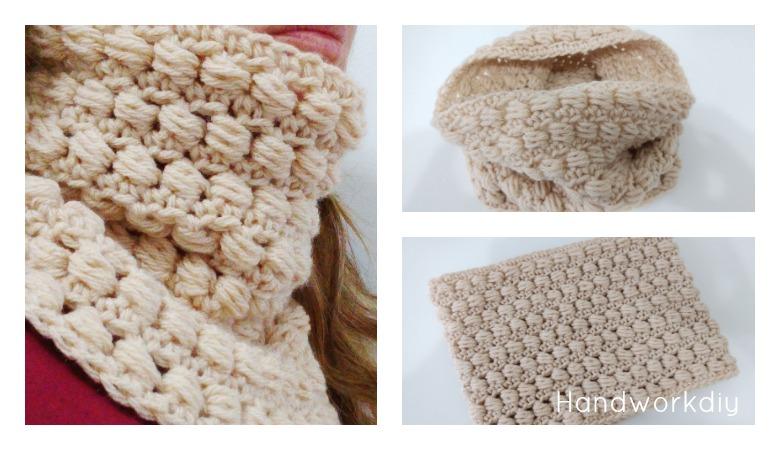 Boutique en ligne df109 e5f4c Handworkdiy: Cuello crochet paso a paso