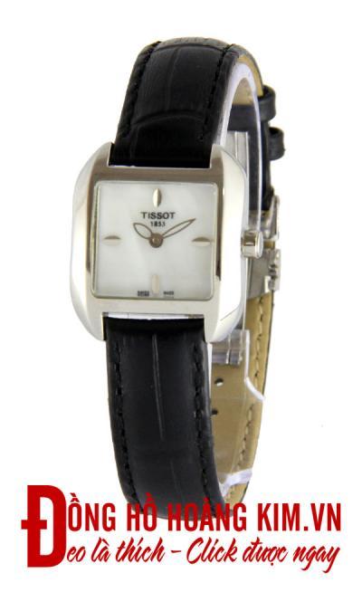 đồng hồ tissot nữ mới về mặt vuông