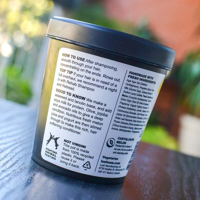 Lush Retread Conditioner - How to Use