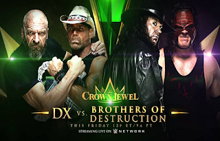 WWE Crown Jewel Biss Key Eutelsat 10A 2 November 2018