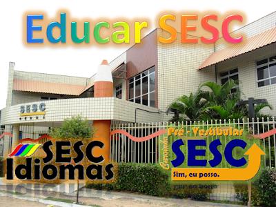 Resultado de imagem para Escola Educar Sesc Ensino