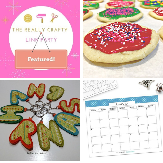 The Really Crafty Link Party #150 featured posts